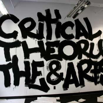 Critical Theory and the Arts