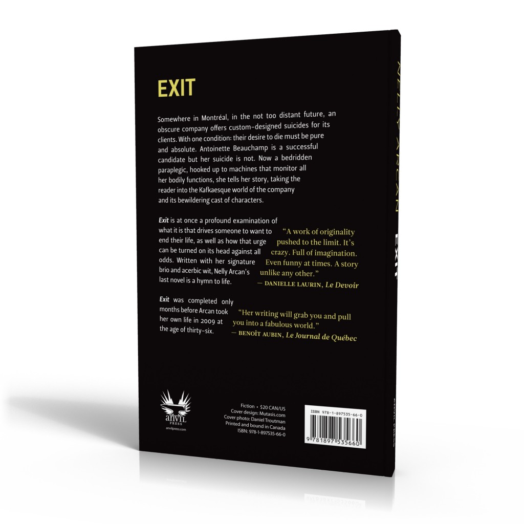 Exit back cover