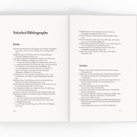 John Cage's Prepared Piano bibliography spread