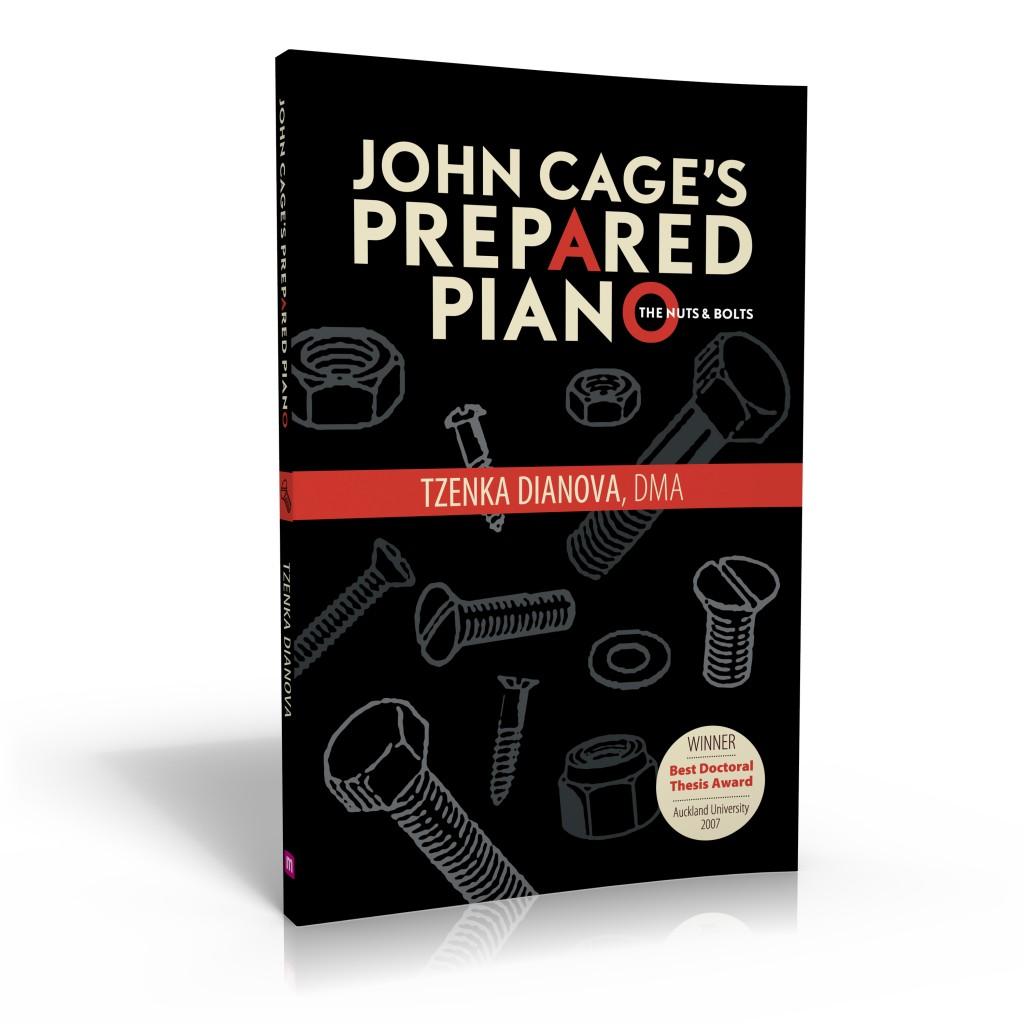 John Cage's Prepared Piano book cover