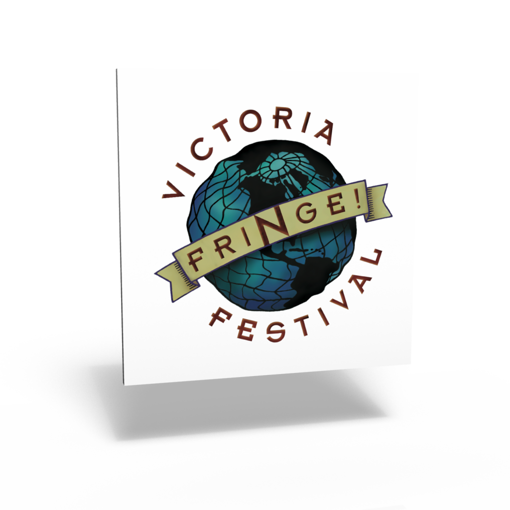 Victoria Fringe Festival visual identity program