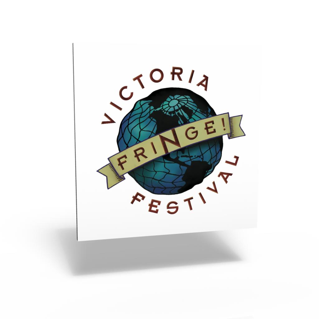 Victoria Fringe Festival visual identity program