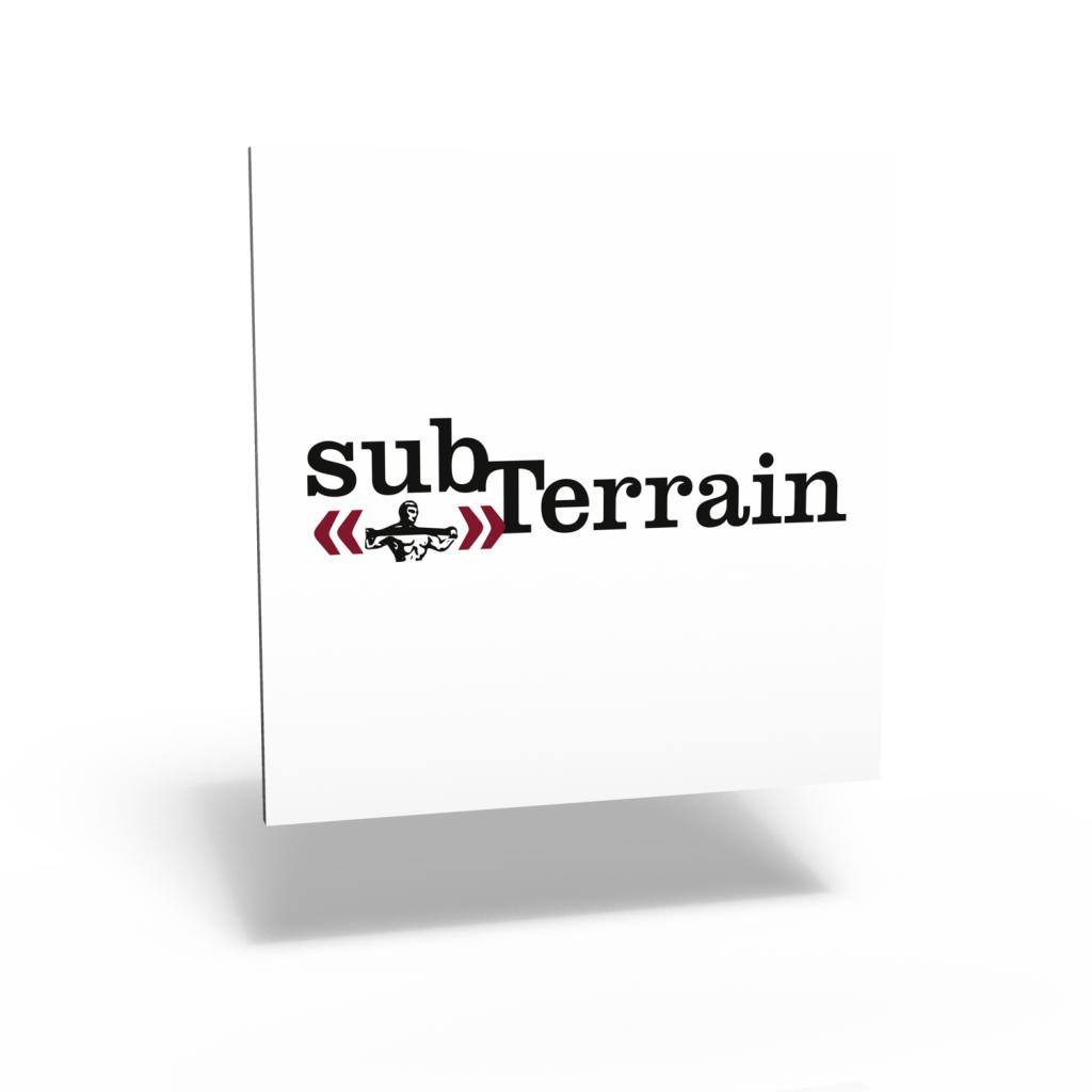 subTerrain magazine masthead