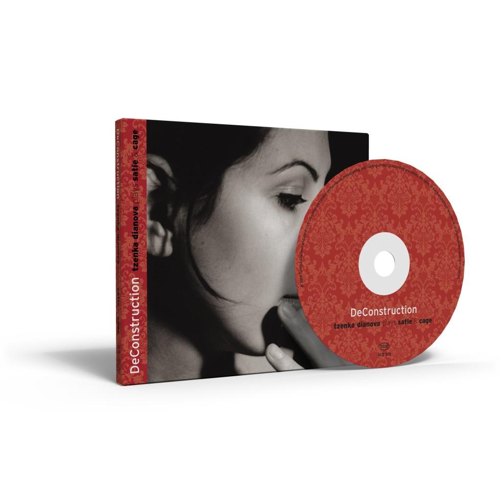 Tzenka Dianova's album, DeConstruction (CD and box)