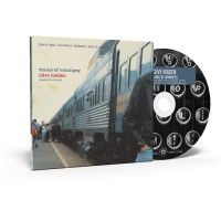 Clive Holden's album, Trains of Winnipeg (CD and box)