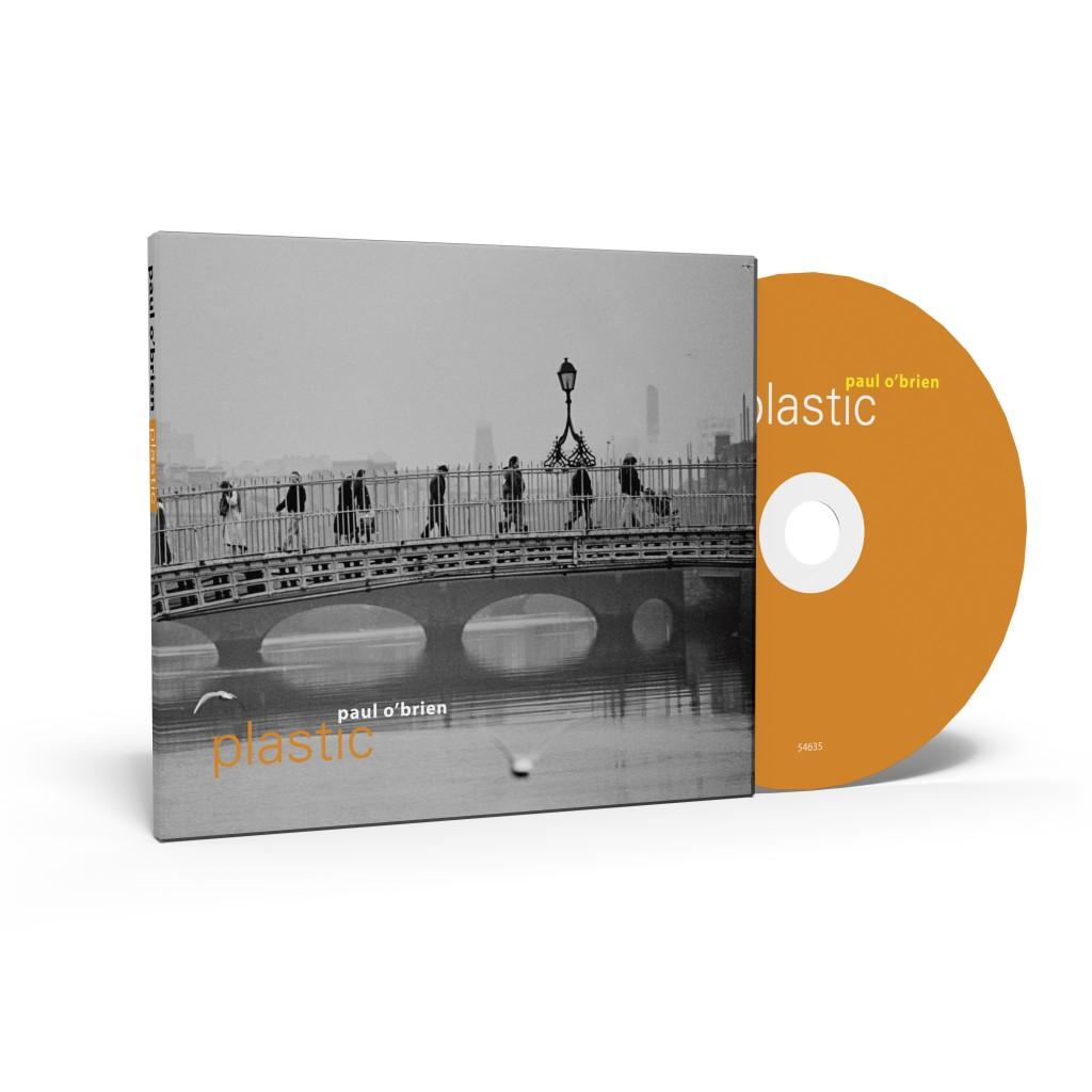 Paul O'Brien's album, Plastic (CD and box)
