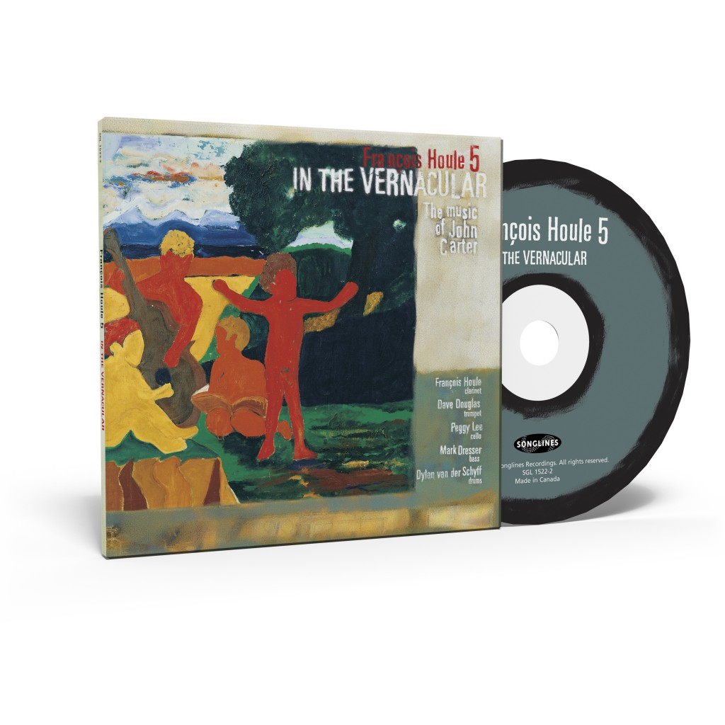 François Houle's album, In the Vernacular (CD and box)