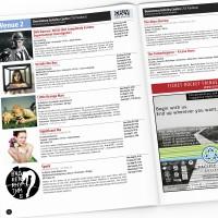 Victoria Fringe Theatre Festival 2012 program spread