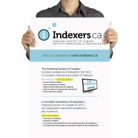 Indexers 2013 conference poster