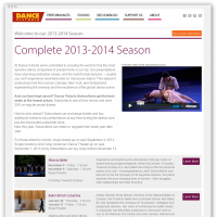 Dance Victoria season overview page