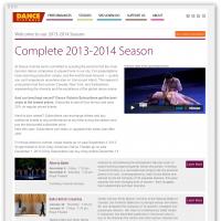 Dance Victoria season overview page