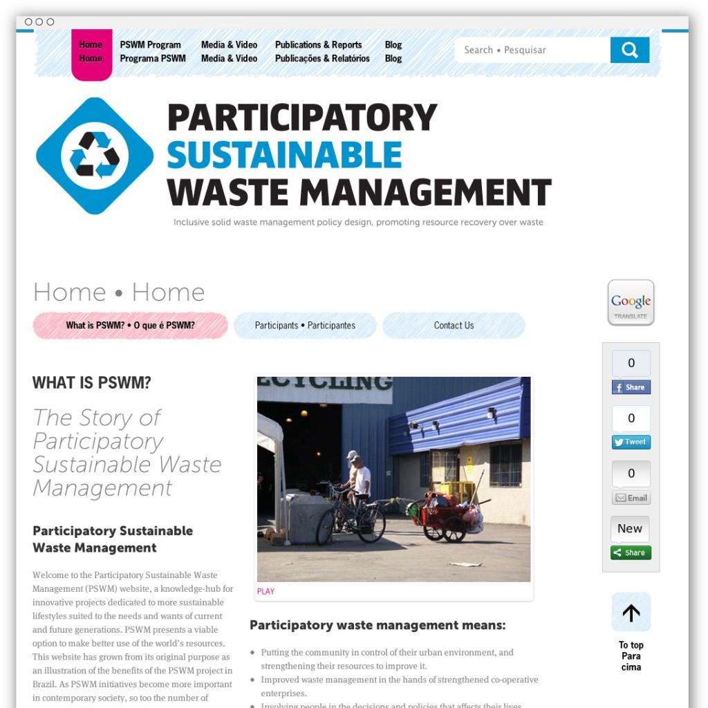 PSWM homepage