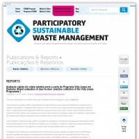 PSWM publications webpage