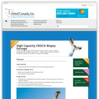 PriMed Canada product feature webpage