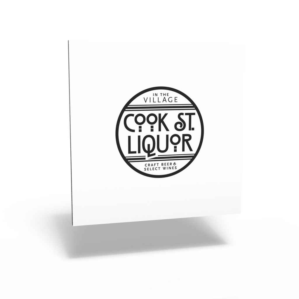Cook St. Liquor logo (standard version)