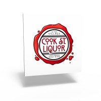 Cook St. Liquor logo (wine)