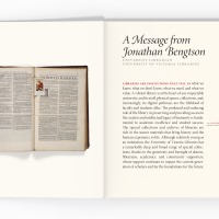 Seghers Collection book, pages viii-ix spread