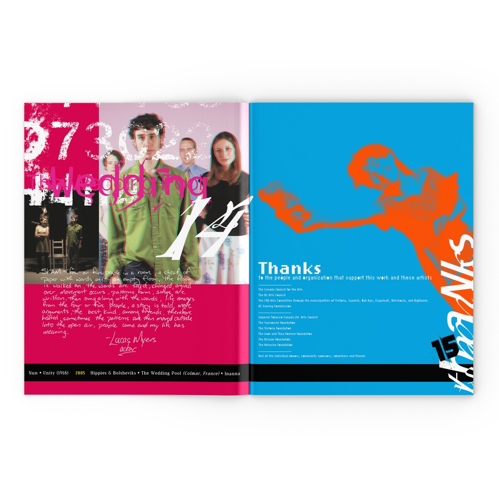 Theatre SKAM 2006 booklet
