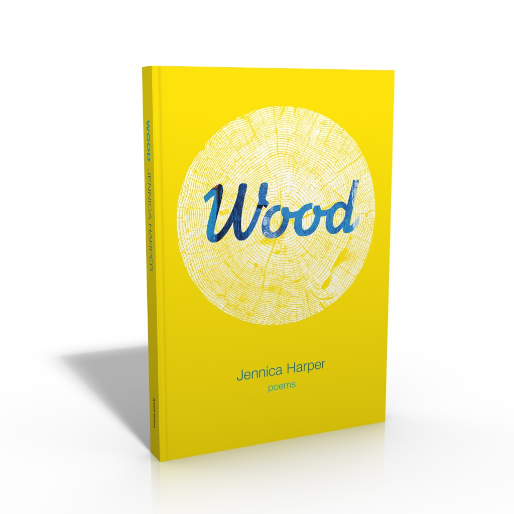 Wood book jacket front cover