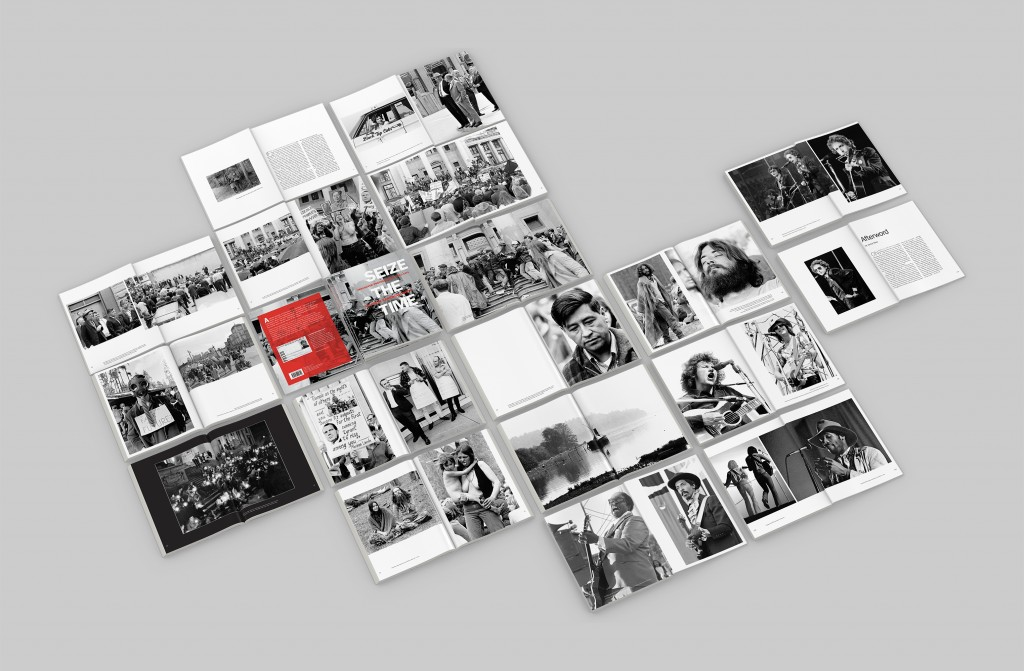 Seize the Time book sample spreads