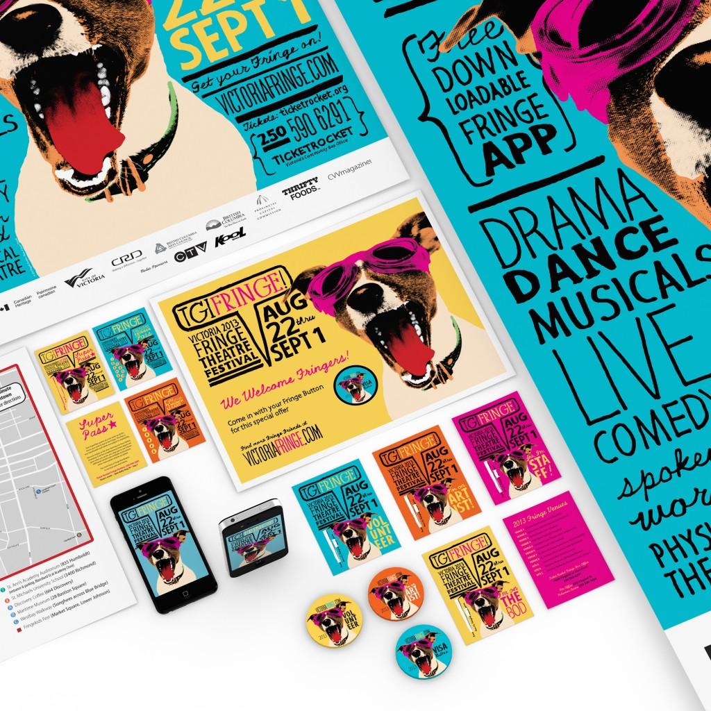 Victoria Fringe Festival 2013 promo items details