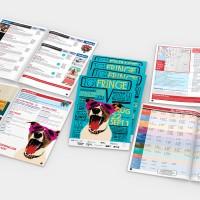 Victoria Fringe Festival 2013 program guide cover and spreads