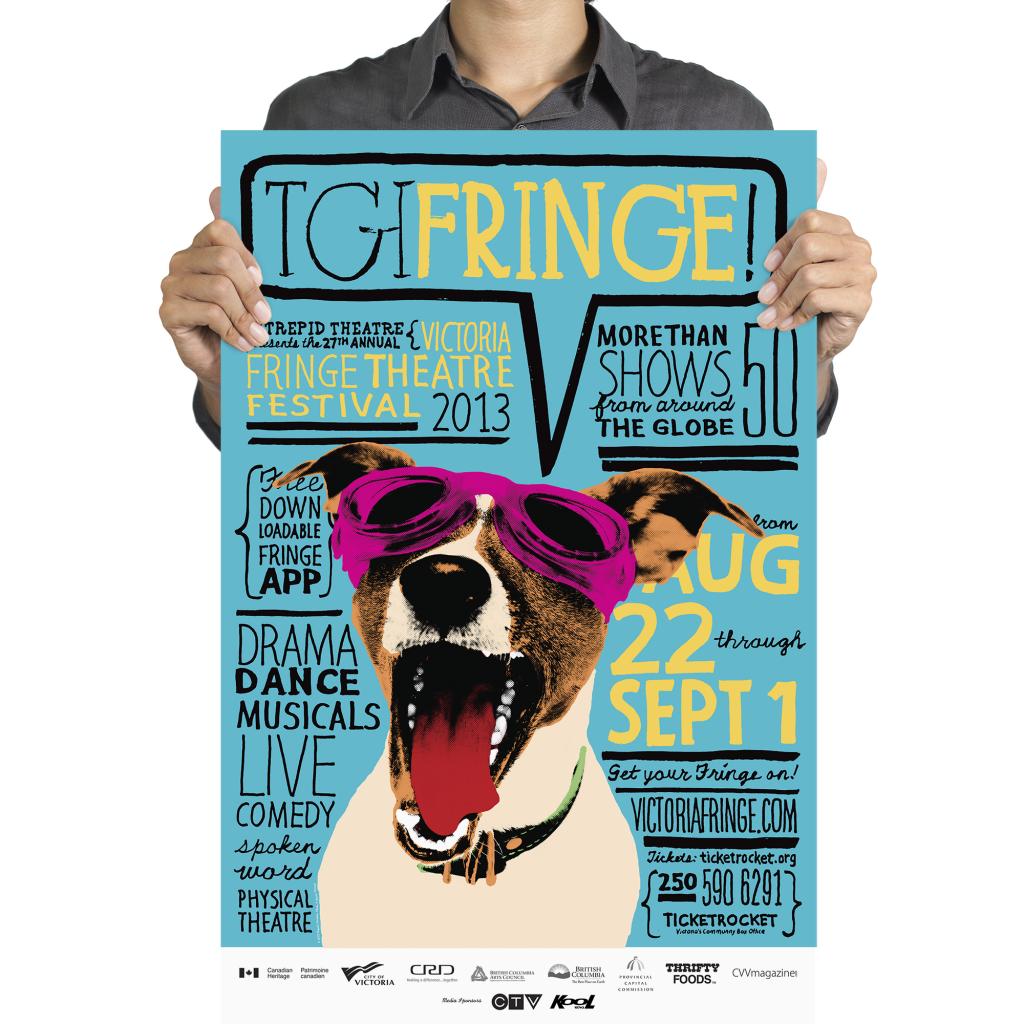 Victoria Fringe Festival 2013 poster