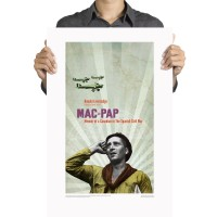 Mac-Pap book jacket poster