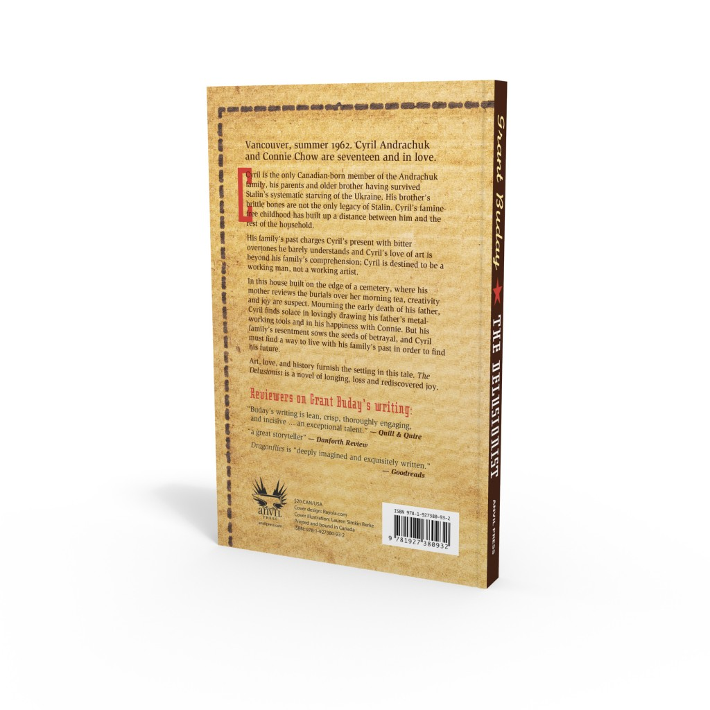 The Delusionist back cover