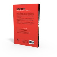Savour book back cover