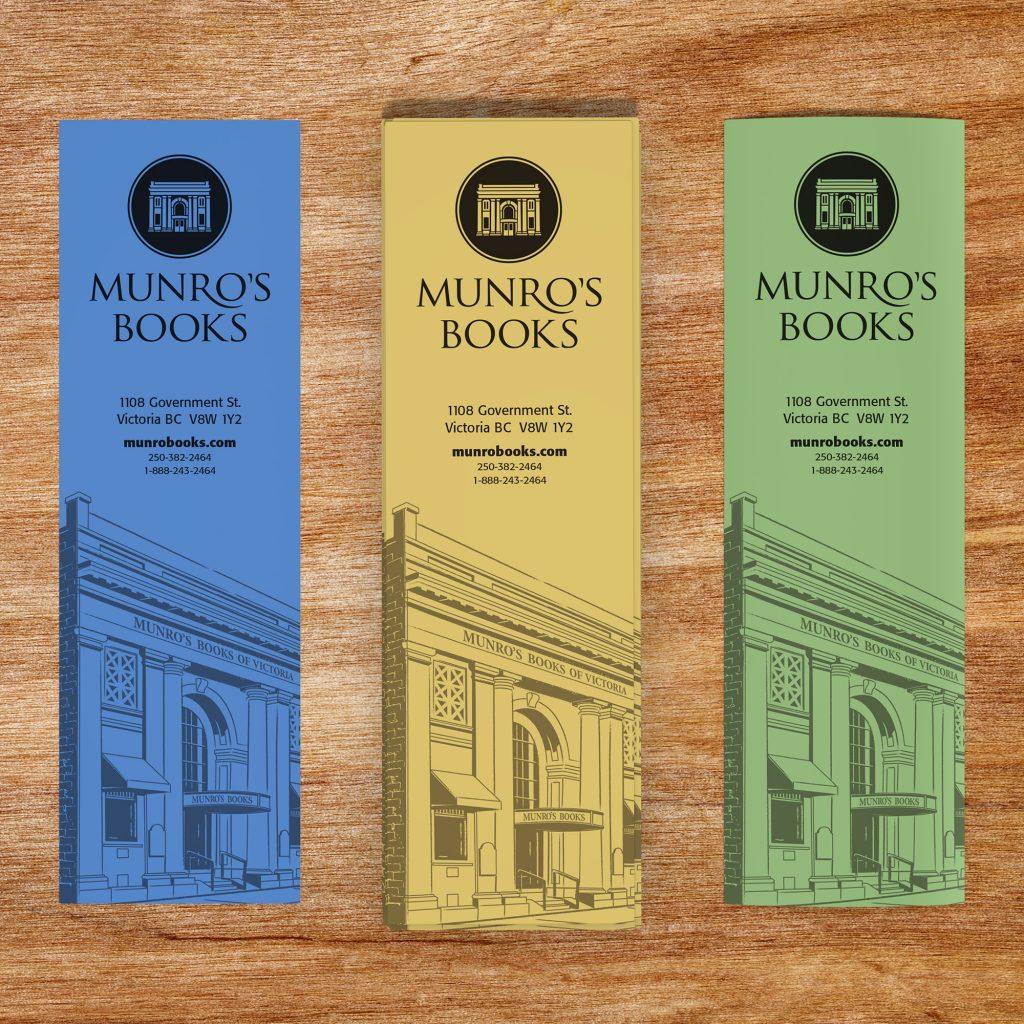 Munro's Books bookmarks
