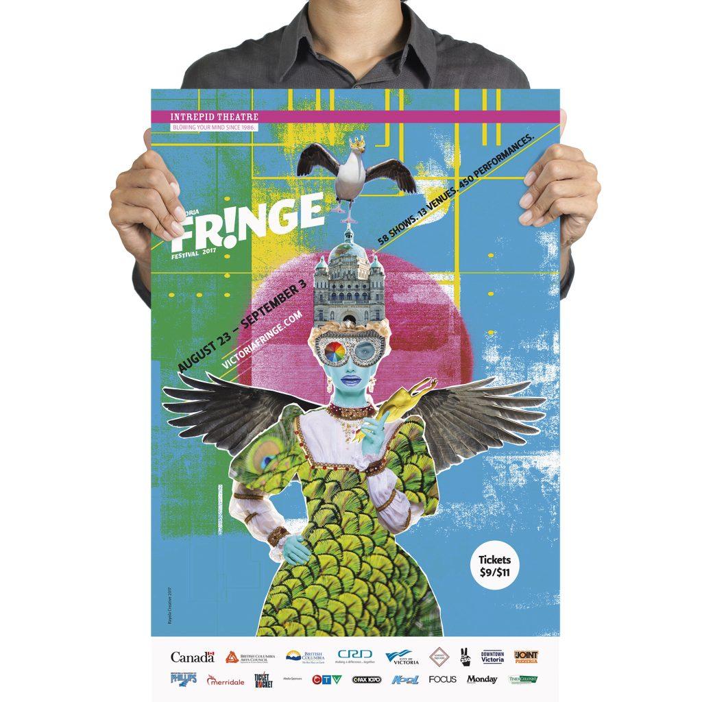 Victoria Fringe Festival 2017 poster